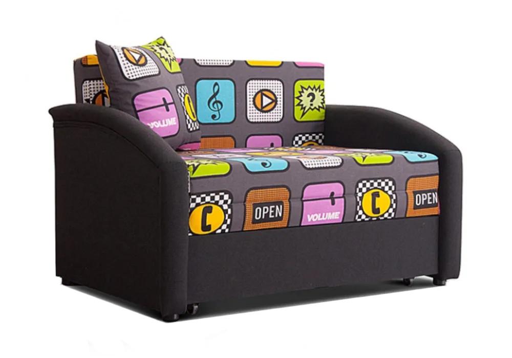 Детский диван выкатной Даня серый