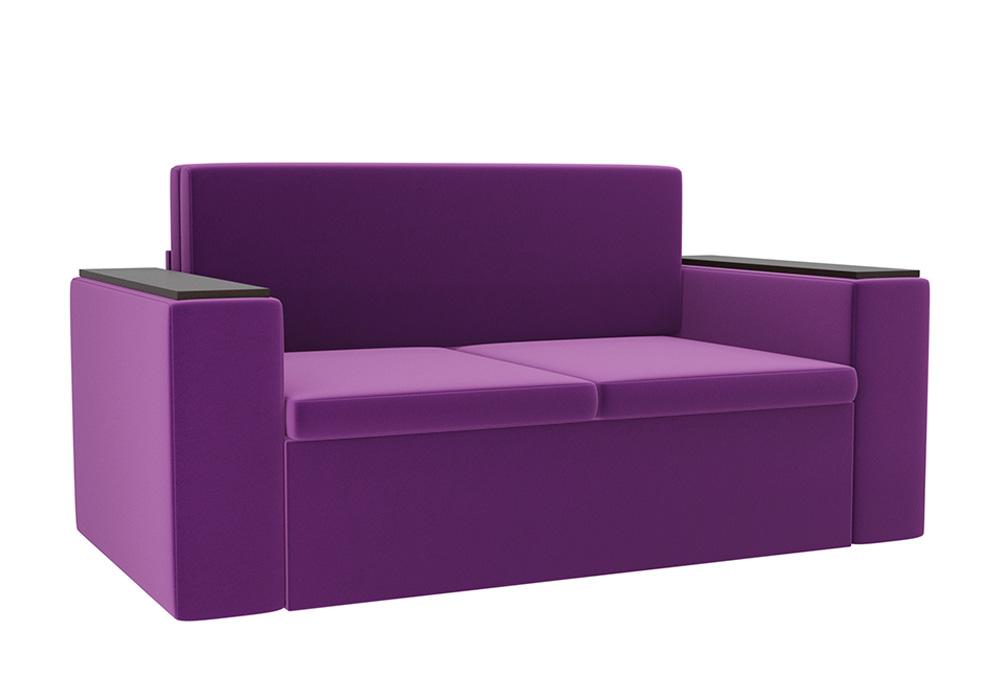 Детский диван Арси микровельвет фиолетовый