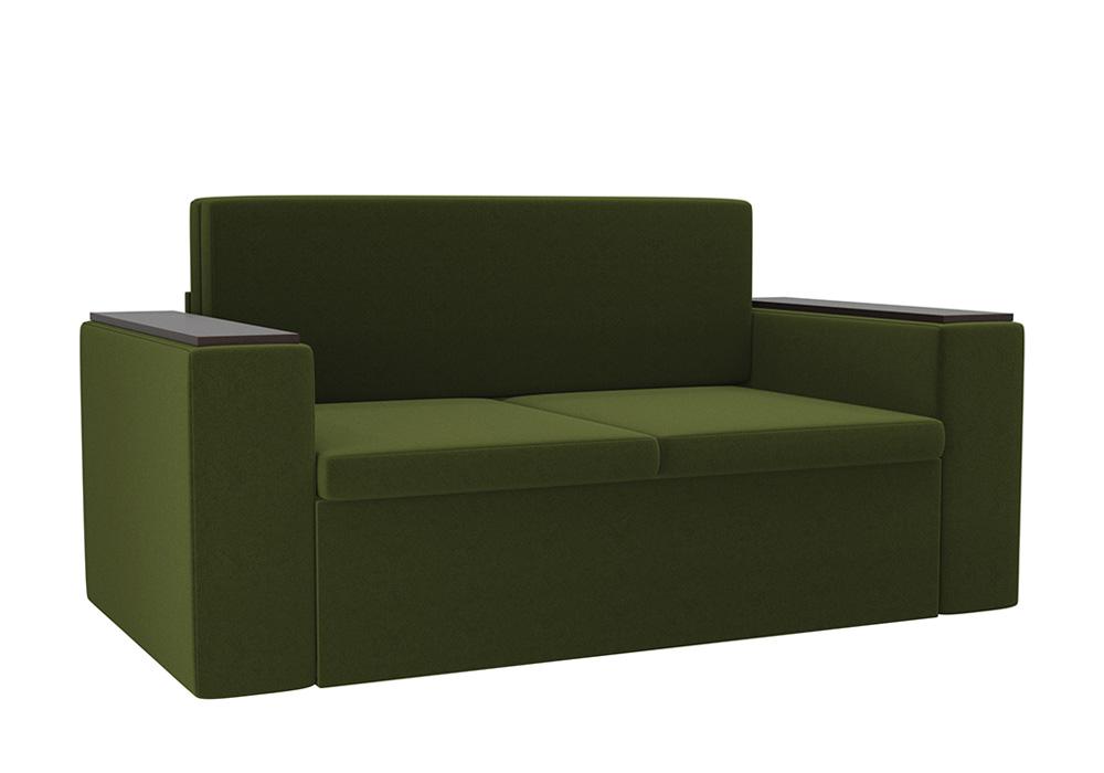 Детский диван Арси микровельвет зеленый