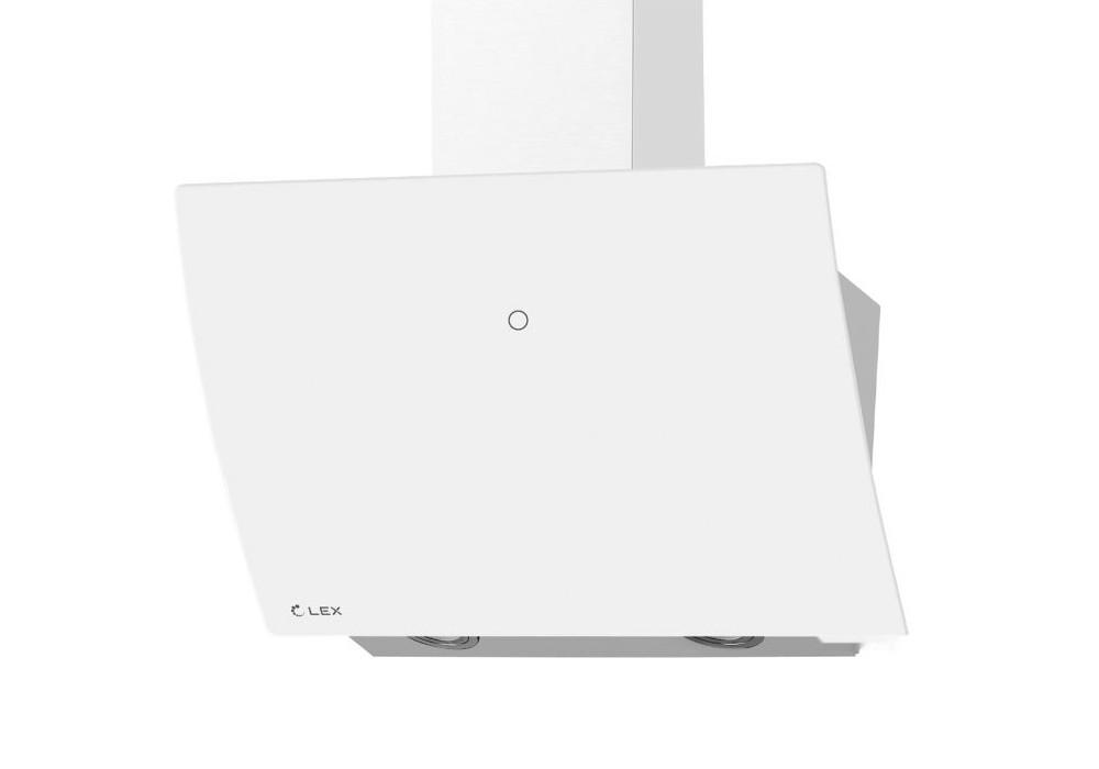 Наклонная вытяжка PLAZA GS 600 WHITE