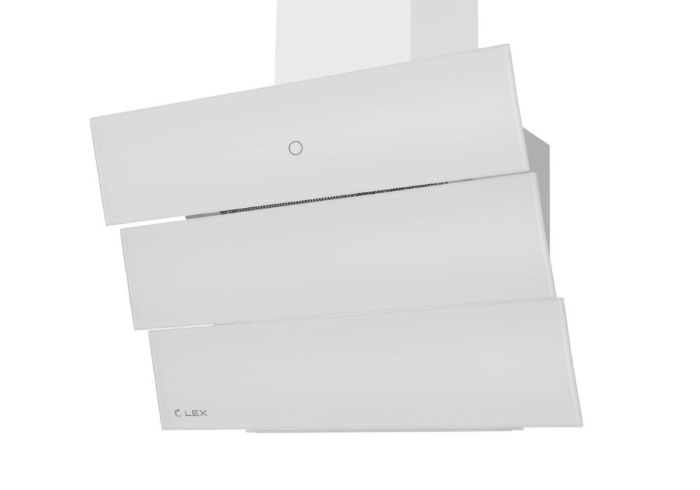 Наклонная вытяжка RIO GS 600 WHITE