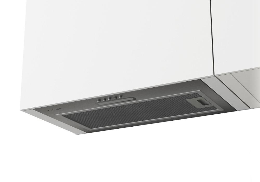 Встраиваемая вытяжка GS BLOC LIGHT 600 INOX