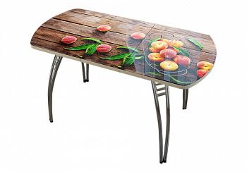 Стол раздвижной персики