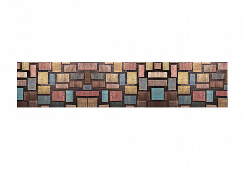 Комплект стеновых панелей с фотопечатью мозаика