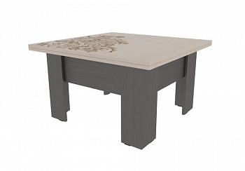 Журнальный стол Секрет венге / дуб млечный