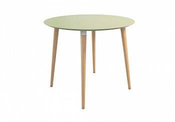 Обеденный стол Сканди 2 фисташка / светлый лак