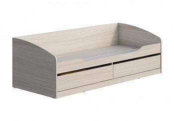 Кровать Мийа-3А 0.8 м ясень шимо светлый