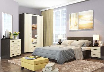 Спальный гарнитур Ронда-2 венге цаво