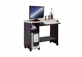 Компьютерный стол Костер-3 венге / клен азия
