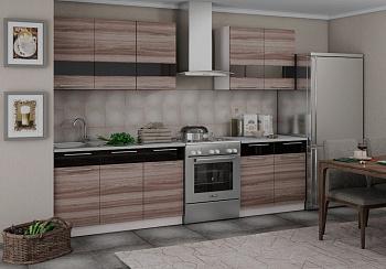 Кухня Олеся 2.0 м ясень шимо темный