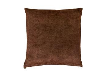 Подушка коричневая