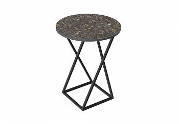 Журнальный стол с рисунком Coffee