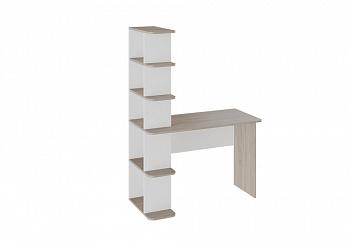 Письменный стол тип 4 дуб сонома / белый ясень