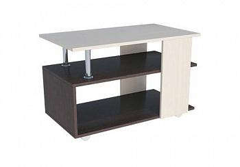 Журнальный стол №6 венге / дуб молочный