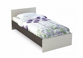 Кровать Бася 0.9 м венге / дуб белфорт