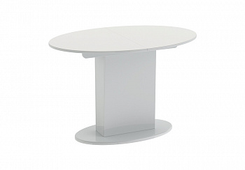 Стол обеденный Марсель белый глянец