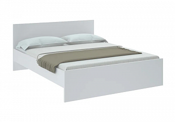Кровать Николь белая