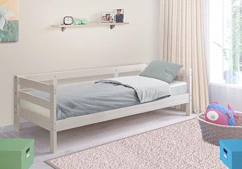Кровать детская Норка выбеленная береза