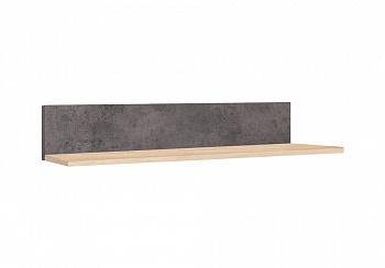 Полка Лофт 19.13 дуб золотистый / бетон