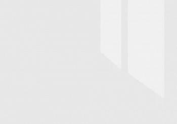 Плинтус треугольный Thermoplast белый глянец