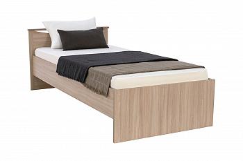 Кровать односпальная Мелисса шимо светлый