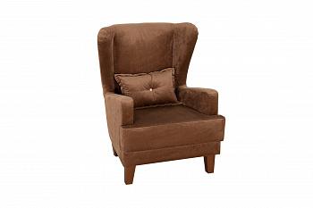 Кресло Нарцисс коричневое