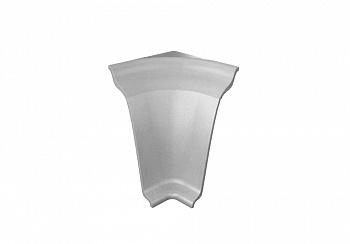 Угол внутренний на плинтус закругленный Thermoplast металлик