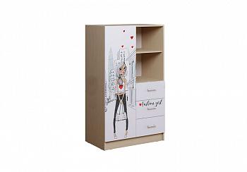Шкаф комбинированный Вега NEW Girl