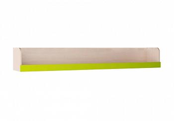 Полка Юниор-3 лайм / дуб беленый
