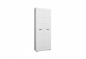 Шкаф 2-х створчатый Нэнси NEW белый глянец