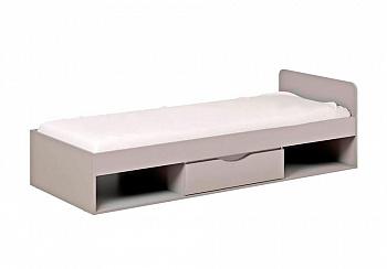 Кровать Неаполь серая