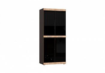 Шкаф 2-х створчатый Асти №2 дуб сонома / венге