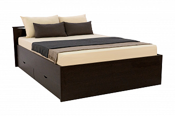 Кровать Мелисса с ящиками венге