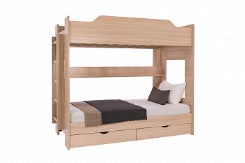Двухъярусная кровать шимо светлый
