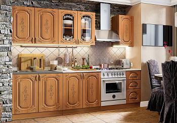 Кухня Лиза-2 2.0 м ольха матовая