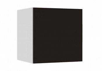 Куб Флорис черный глянец / белый