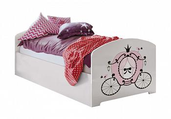 Кровать Принцесса белая
