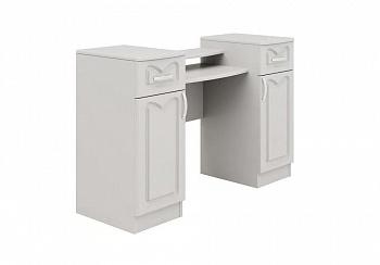 Туалетный столик Натали-1 белый глянец