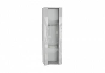 Шкаф навесной Point тип-21 белый глянец / белый матовый