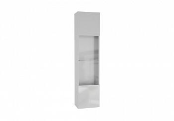 Шкаф навесной Point тип-42 белый глянец / белый матовый