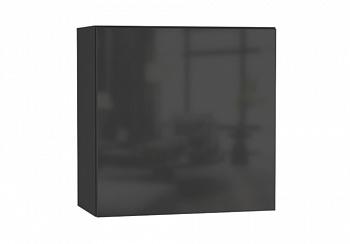Шкаф навесной Point тип-60 черный глянец / черный матовый
