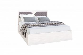 Кровать Николь ясень шимо / лиственница темная