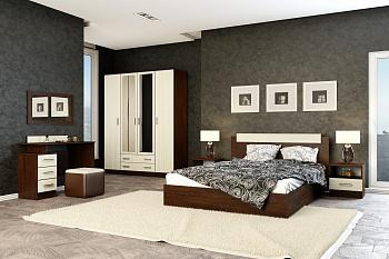 Модульная спальня Эко лоредо / венге