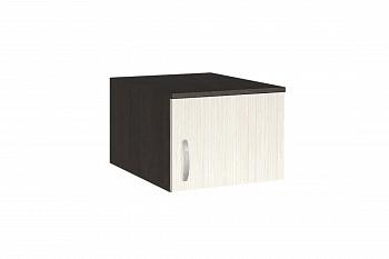 Антресоль для шкафа Ронда А1 венге цаво / беленый дуб