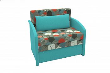 Диван-кровать Малыш голубой