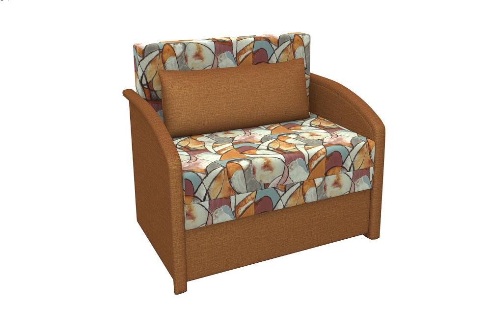 Диван-кровать Малыш коричневый