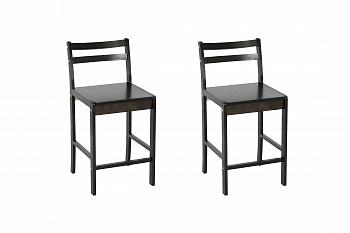 Комплект стульев барных венге