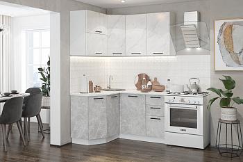 Кухня угловая 1.3 на 1.4 м Лофт