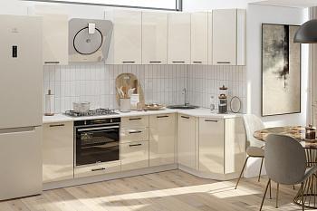 Кухня угловая 1.3 на 2.4 м Лофт