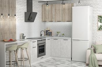Кухня угловая 2.0 на 1.4 м Лофт